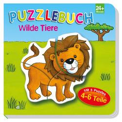 Puzzlebuch Wilde Tiere von Brüggemann,  Vera