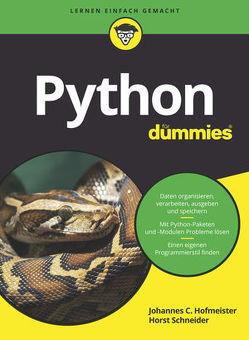 Python für Dummies von Hofmeister,  Johannes C., Schneider,  Horst