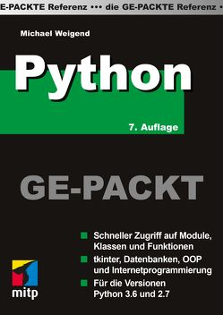 Python Ge-Packt von Weigend,  Michael