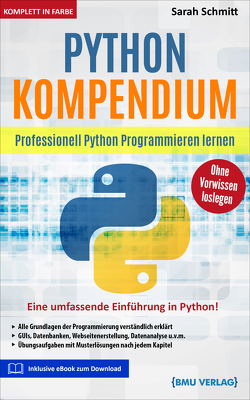 Python Kompendium von Schmitt,  Sarah