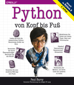 Python von Kopf bis Fuß von Barry,  Paul, Lang,  Jørgen W.