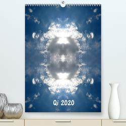 Qi 2020 (Premium, hochwertiger DIN A2 Wandkalender 2020, Kunstdruck in Hochglanz) von Eich,  Volker