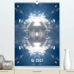 Qi 2021 (Premium, hochwertiger DIN A2 Wandkalender 2021, Kunstdruck in Hochglanz) von Eich,  Volker