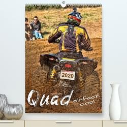 Quad – einfach cool (Premium, hochwertiger DIN A2 Wandkalender 2020, Kunstdruck in Hochglanz) von Roder,  Peter