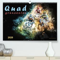 Quad grenzenlos (Premium, hochwertiger DIN A2 Wandkalender 2020, Kunstdruck in Hochglanz) von Roder,  Peter