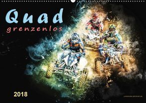 Quad grenzenlos (Wandkalender 2018 DIN A2 quer) von Roder,  Peter
