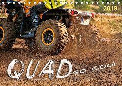 Quad – so cool (Tischkalender 2019 DIN A5 quer) von Roder,  Peter