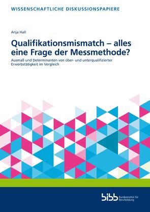 Qualifikationsmismatch – alles eine Frage der Messmethode? von Hall,  Anja