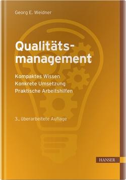 Qualitätsmanagement von Weidner,  Georg Emil