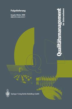 Qualitätsmanagement im Unternehmen von Hansen,  W.