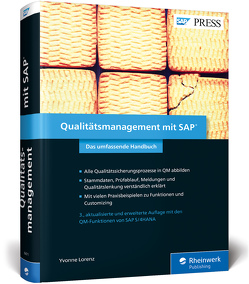 Qualitätsmanagement mit SAP von Lorenz,  Yvonne