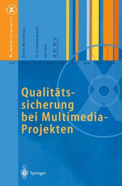 Qualitätssicherung bei Multimedia- Projekten von Merx,  Oliver