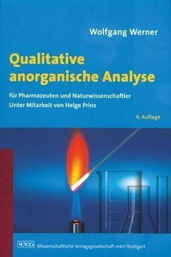 Qualitative anorganische Analyse von Prinz,  Helge, Werner,  Wolfgang