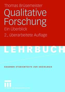 Qualitative Forschung von Brüsemeister,  Thomas