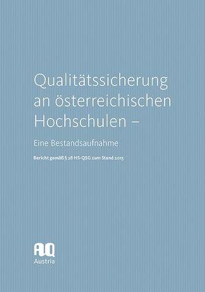 Qualitätssicherung an österreichischen Hochschulen