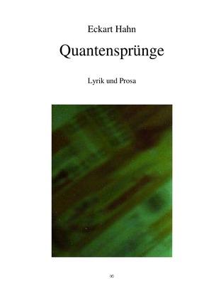 Quantensprünge von Hahn,  Eckart
