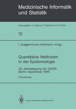 Quantitative Methoden in der Epidemiologie von Guggenmoos-Holzmann,  Irene