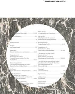 Quart Heft für Kultur Tirol 29/2017 von Hatzer,  Markus, Schett,  Andreas