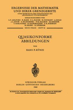 Quasikonforme Abbildungen von Künzi,  H.P.