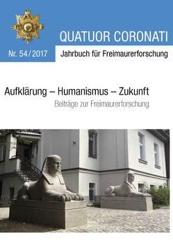 Quatuor Coronati Jahrbuch für Freimaurerforschung Nr. 54/2017