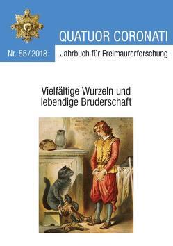Quatuor Coronati Jahrbuch für Freimaurerforschung Nr. 55/2018