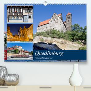 Quedlinburg – Pittoreskes Kleinod (Premium, hochwertiger DIN A2 Wandkalender 2020, Kunstdruck in Hochglanz) von boeTtchEr,  U