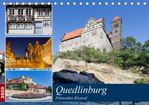 Quedlinburg – Pittoreskes Kleinod (Tischkalender 2020 DIN A5 quer) von boeTtchEr,  U