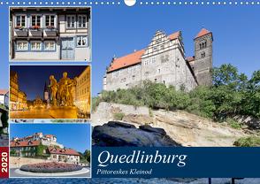 Quedlinburg – Pittoreskes Kleinod (Wandkalender 2020 DIN A3 quer) von boeTtchEr,  U