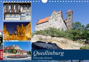 Quedlinburg – Pittoreskes Kleinod (Wandkalender 2020 DIN A4 quer) von boeTtchEr,  U
