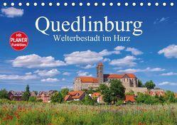 Quedlinburg – Welterbestadt im Harz (Tischkalender 2019 DIN A5 quer)