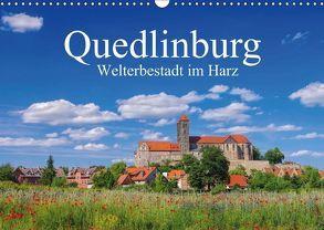 Quedlinburg – Welterbestadt im Harz (Wandkalender 2018 DIN A3 quer) von LianeM