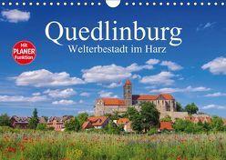 Quedlinburg – Welterbestadt im Harz (Wandkalender 2019 DIN A4 quer)