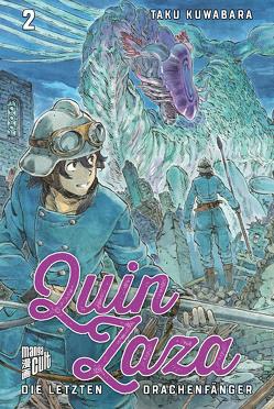 Queen Zaza – Die letzten Drachenfänger 2 von Kuwabara,  Taku