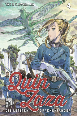 Queen Zaza – Die letzten Drachenfänger 4 von Kuwabara,  Taku