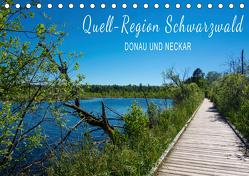 Quell-Region Schwarzwald – Donau und Neckar (Tischkalender 2020 DIN A5 quer) von und Philipp Kellmann,  Stefanie
