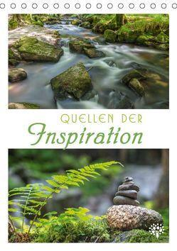 Quellen der Inspiration (Tischkalender 2019 DIN A5 hoch) von Agnes Müringer,  Enikö, Mueringer,  Christian