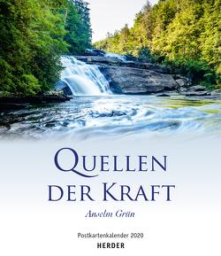Quellen der Kraft 2020 Postkartenkalender von Grün,  Anselm