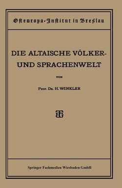 Quellen und Studien von Winkler,  Heinrich