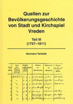 Quellen zur Bevölkerungsgeschichte von Stadt und Kirchspiel Vreden von Terhalle,  Hermann