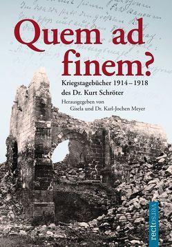 Quem ad finem? von Meyer,  Gisela, Meyer,  Karl-Jochen