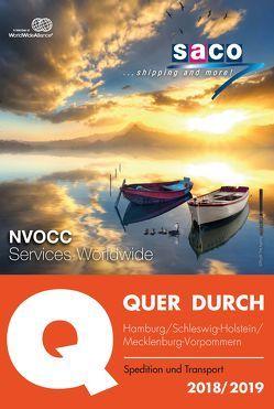 QUER DURCH HAMBURG Spedition und Transport 2018/2019