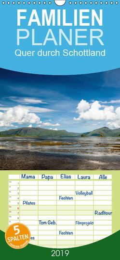 Quer durch Schottland – Familienplaner hoch (Wandkalender 2019 , 21 cm x 45 cm, hoch) von Gärtner- franky242 photography,  Frank