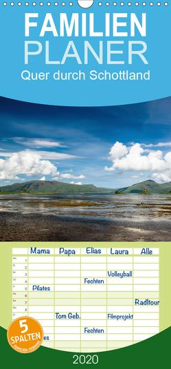 Quer durch Schottland – Familienplaner hoch (Wandkalender 2020 , 21 cm x 45 cm, hoch) von Gärtner- franky242 photography,  Frank