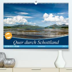 Quer durch Schottland (Premium, hochwertiger DIN A2 Wandkalender 2021, Kunstdruck in Hochglanz) von Gärtner- franky242 photography,  Frank