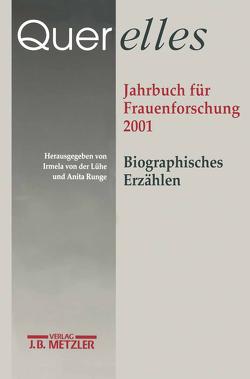 """Querelles. Jahrbuch für Frauenforschung 2001 von """"Ergebnisse der Frauenforschung an der Freien Universität Berlin"""", Runge,  Anita, von der Lühe,  Irmela"""