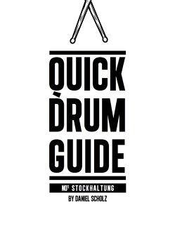 Quick Drum Guide von Scholz,  Daniel