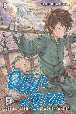Quin Zaza – Die letzten Drachenfänger 5 von Kuwabara,  Taku, Wetherell,  Janine
