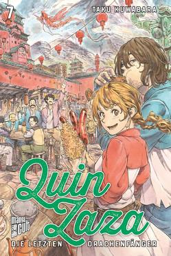 Quin Zaza – Die letzten Drachenfänger 7 von Kuwabara,  Taku, Wetherell,  Janine