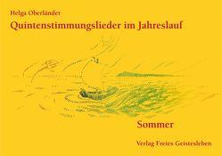 Quintenstimmungslieder im Jahreslauf von Oberländer,  Helga
