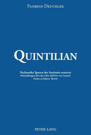 Quintilian von Deuchler,  Florens